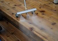 Power Washing Deck Tips