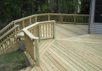Pressure Treated Deck Boards Gap