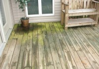 Pressure Wash Deck Paint