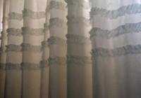 Pretty White Shower Curtains