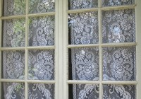 primitive french door curtain panels