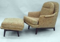 Reading Chair And Ottoman