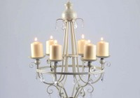 Real Candle Chandelier Lighting