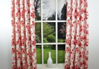 Red And Cream Curtains Uk