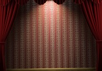 Red Movie Theater Curtains