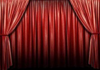 Red Velvet Movie Theater Curtains