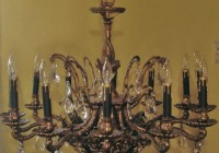 Regent Iron 12 Light Chandelier