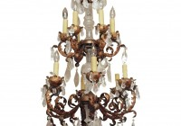 Rock Crystal Chandelier Drops