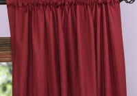 Rod Pocket Curtains With Header