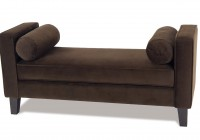 Rolled Arm Bench With Lift Top Storage