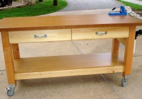 rolling workbench plans