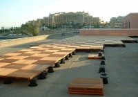 Roof Deck Tiles Wood