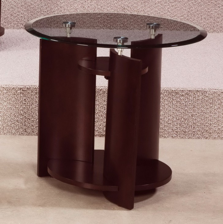 Permalink to Round Accent Table With Glass Top