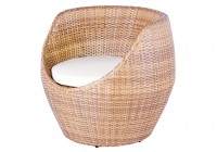 round rattan chair cushions