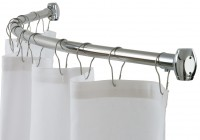 Round Shower Curtain Rod Home Depot