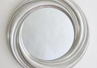 Round Silver Mirror Uk