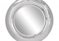 Round Wall Mirror Silver