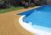 Rubber Pool Deck Resurfacing