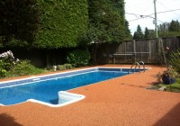 Rubber Pool Deck Tiles