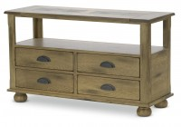Rustic Console Tables With Storage