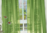 Sage Green And Red Curtains