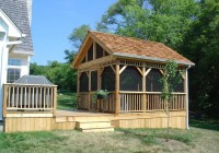 Screened Gazebo For Deck