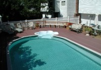 Semi Inground Pools With Decks