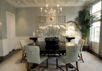 Shabby Chic Chandelier Dining Room
