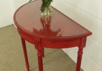Shabby Chic Half Moon Console Table