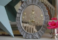 Shabby Chic Mirrors Silver
