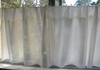 Sheer Cafe Curtains Kitchen