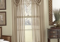 Sheer Curtains With Valance