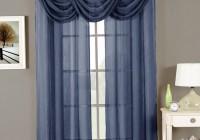 Sheer Navy Blue Curtains