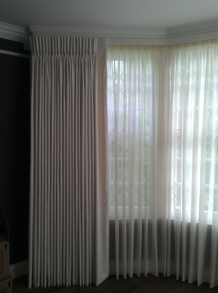 Permalink to Sheer Pinch Pleated Curtains
