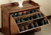 Shoe Bench Storage Plans