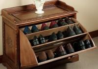 Shoe Bench Storage Plans