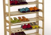 shoe shelves for closets wood