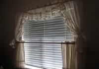 Short Sheer Curtains White