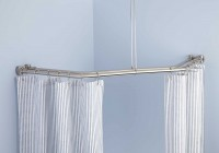 Shower Curtain Rods For Neo Angle Showers