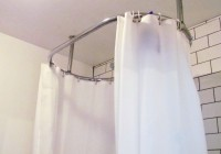 Shower Curtain Track Ceiling