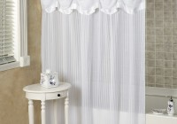 Shower Curtain With Valance Attached