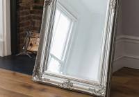 Silver Floor Mirror Large