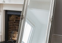 Silver Full Length Wall Mirror