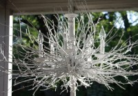 Silver Tree Branch Chandelier