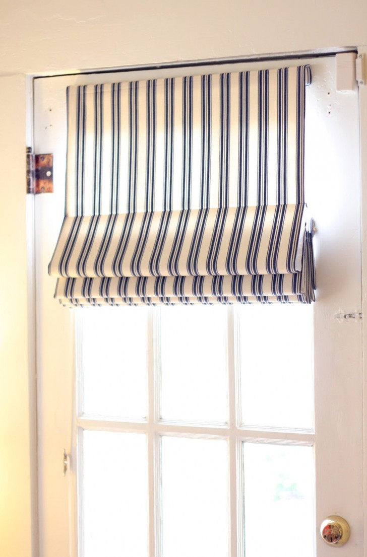 Permalink to Single French Door Curtain Ideas