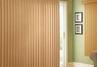sliding door curtains over blinds