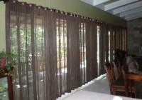 Sliding Glass Door Curtains Modern