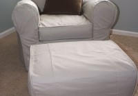 Slipcovers For Ottomans Pottery Barn