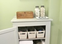 Small Bathroom Closet Organization