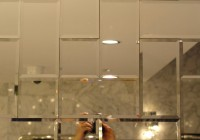 Small Beveled Mirror Tiles